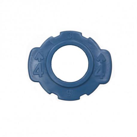 Sweep Oarlock Universal Bushing, 13 mm, Blue